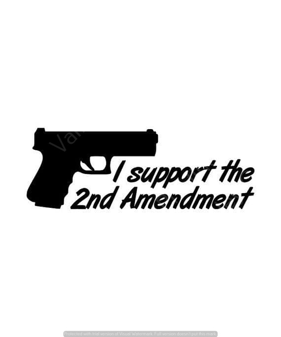 Support 2A Vinyl Decal