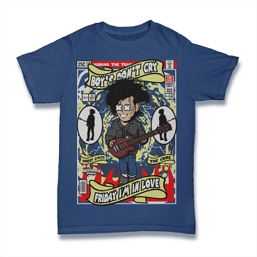Cartoon Band Shirt The Cure