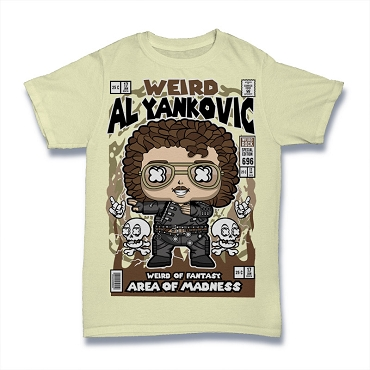 Cartoon Band Shirt Weird Al