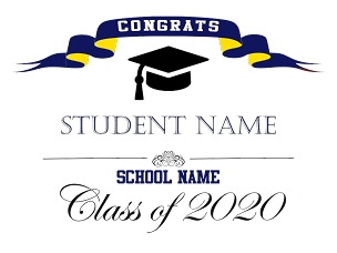 Graduation Sign - Option 3